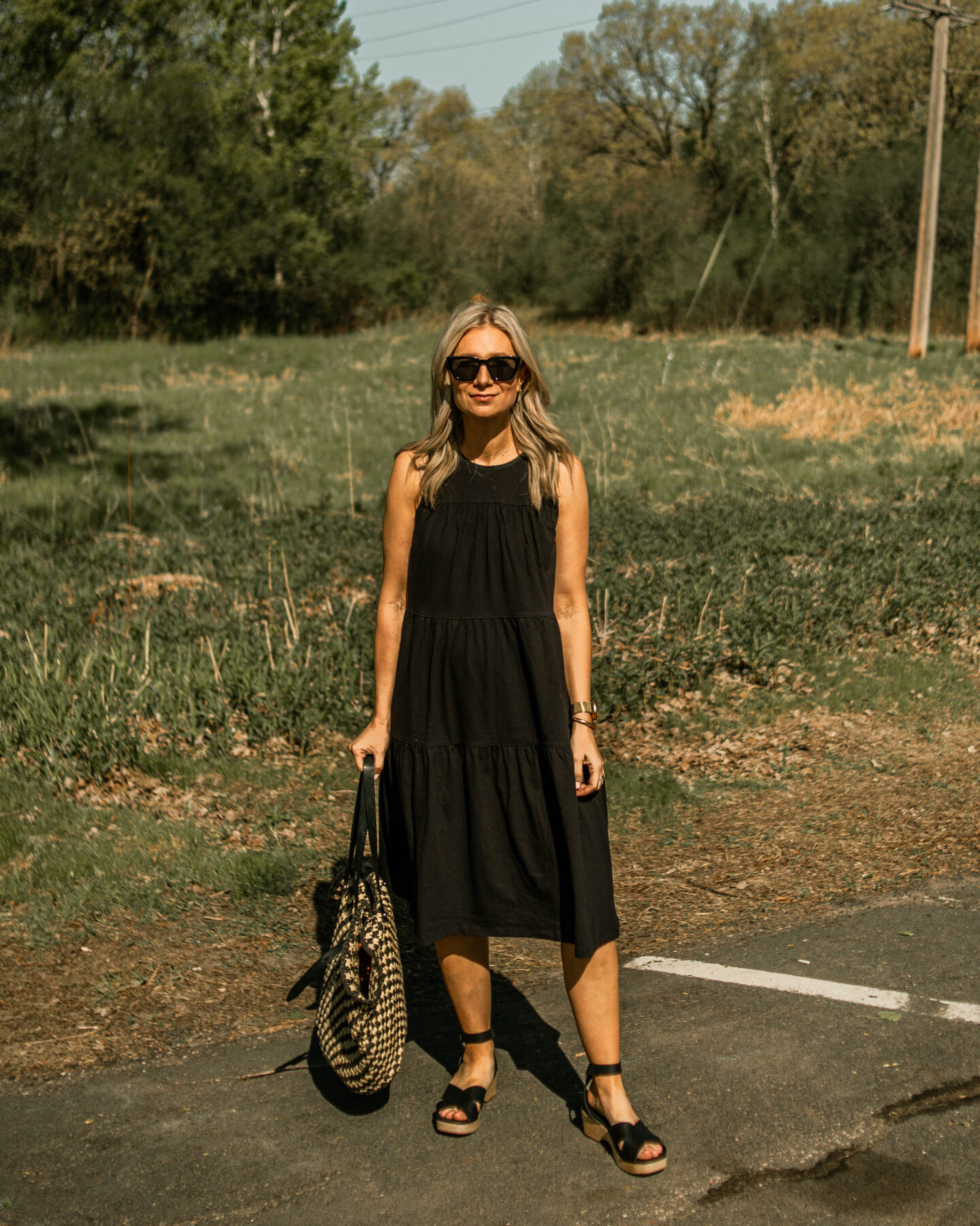 My Favorite Summer Dresses + How I'm Styling Them, Everlane Tiered Dress