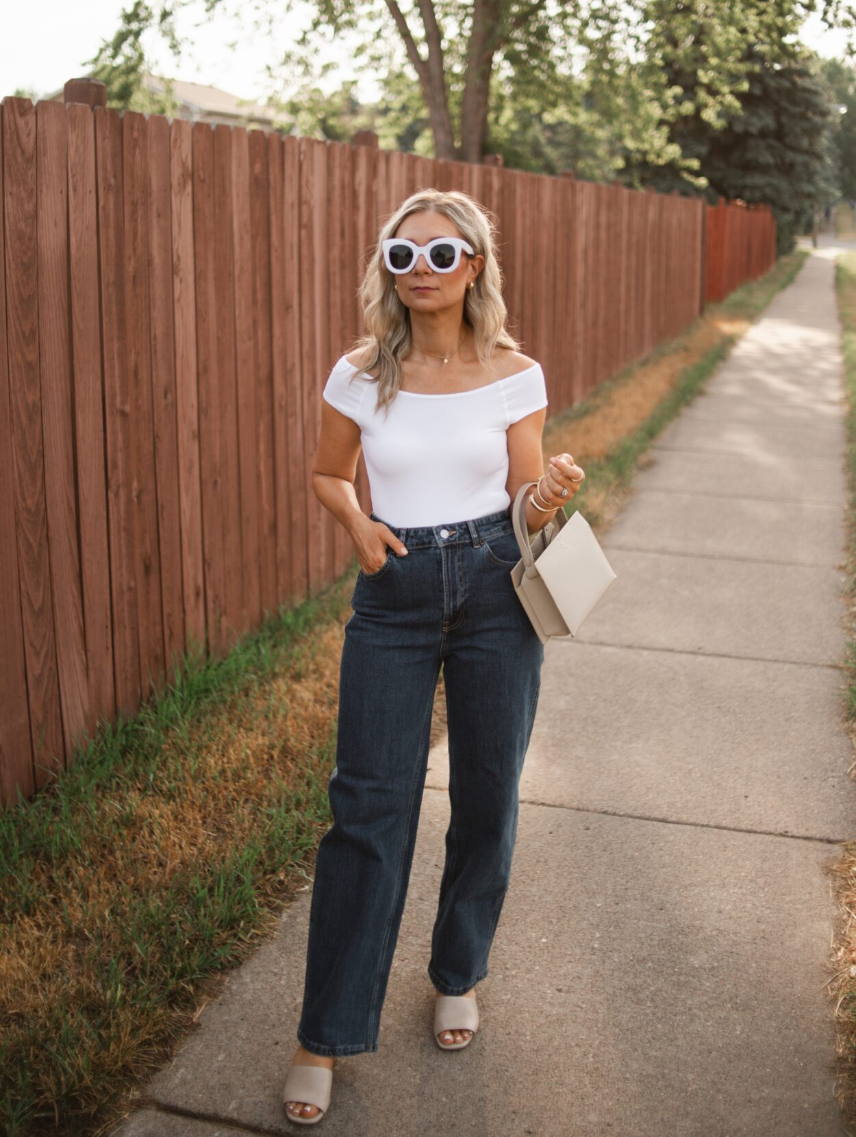 Everlane Way High Baggy Jean review