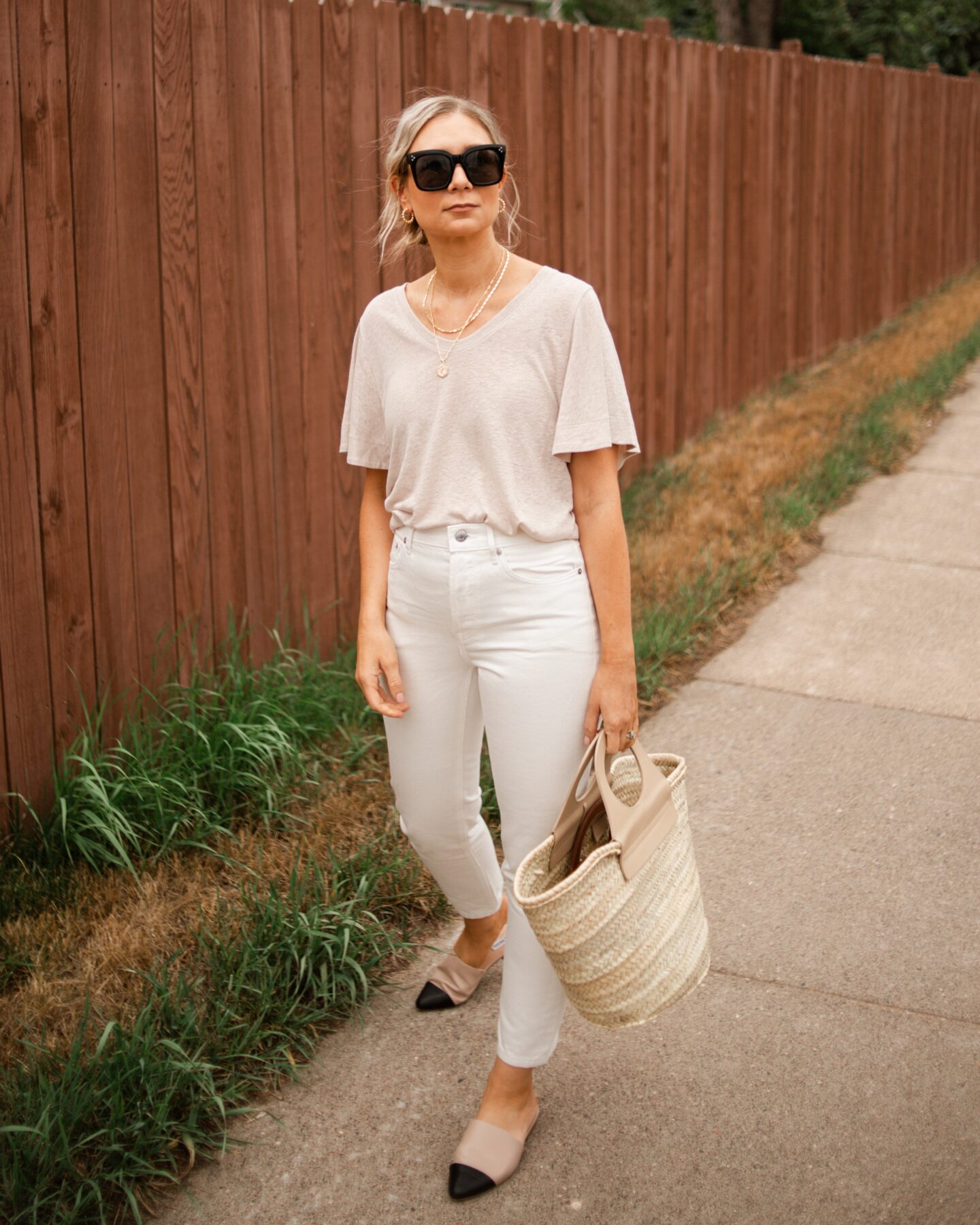 best white jeans, how to style white jeans